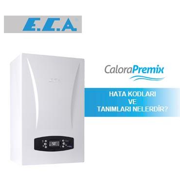 Eca Calora Premix Kombi arıza kodları